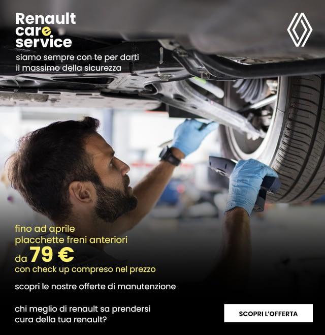 Manutenzione freni Renault Terni