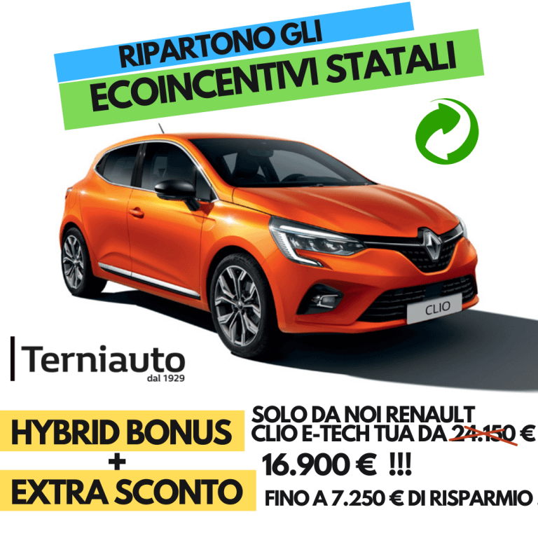Offerta Clio Terni Terniauto