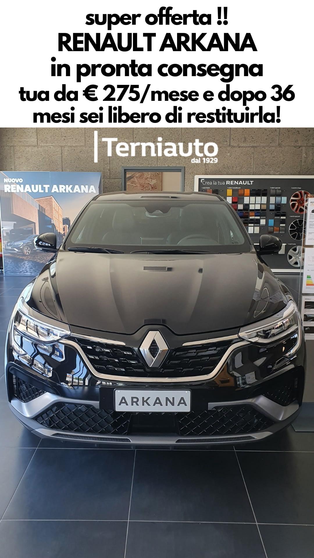 Offerta Renault Arkana Terni