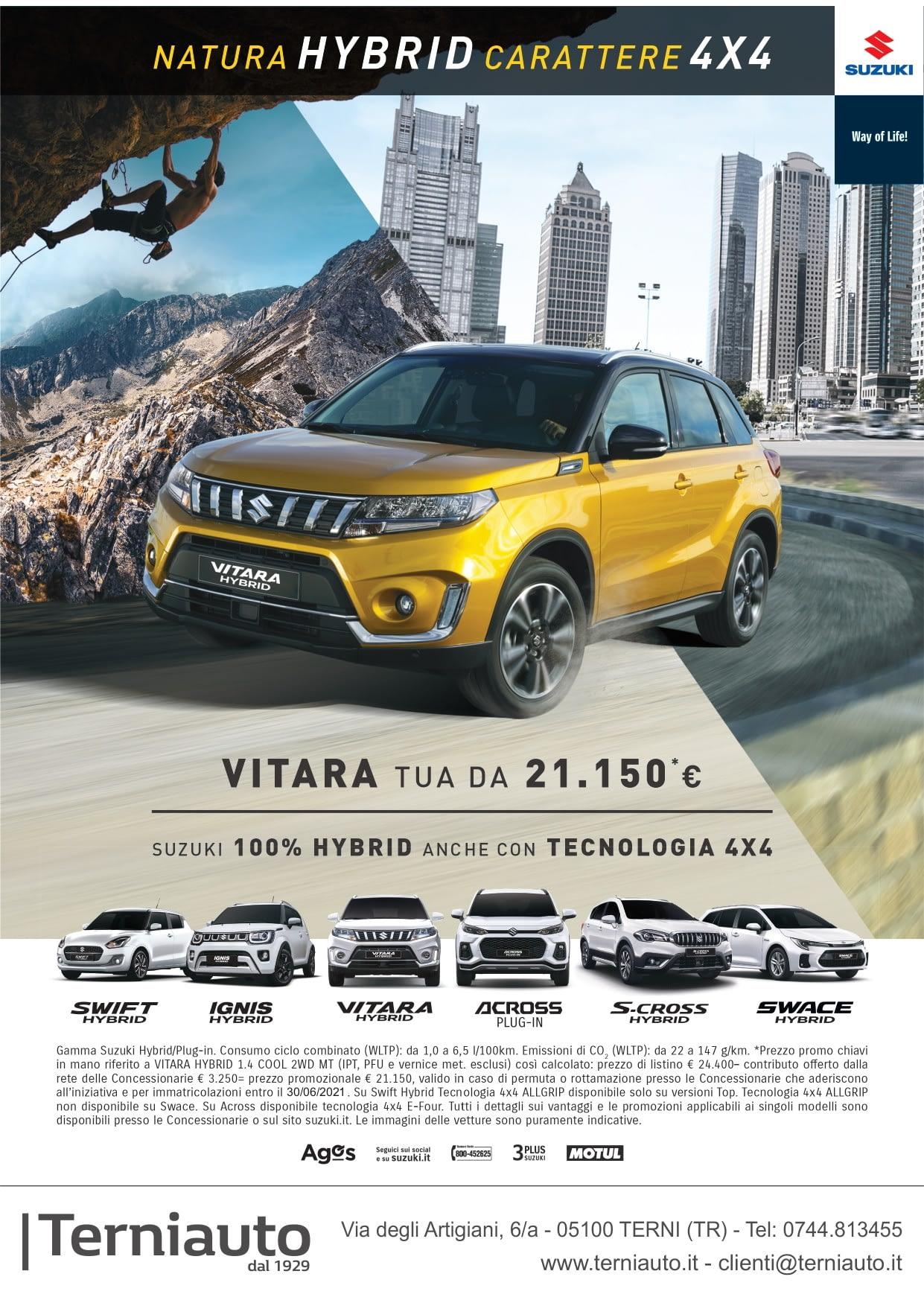 Offerte Suzuki Terni