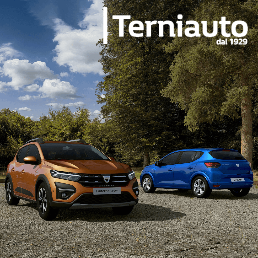 Nuova Dacia Sandero a Terni